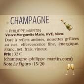 Le Figaro parle de nous 🍾😊 #veuvemargueritemarie #pinotmeunier #cumieres #champagne #france #hve #vdc