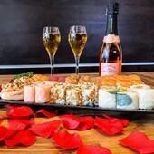 Pour célébrer l'AMOUR, @cosmosushi_france vous propose un plateau spécial #saintvalentin à déguster avec du @champagne_philippe_martin, alors avec qui aimeriez-vous le partager ? 🥰  Venez découvrir #noscréations sans plus attendre dans nos 5 restaurants #cosmosushifrance en livraison ou à emporter.   📍COSMO SUSHI Mandelieu 154 av. de Cannes, 06210 Mandelieu 04.93.48.24.35  📍COSMO SUSHI Mougins 2252 av. du maréchal Juin, 06250 Mougins 04.93.43.71.66  📍COSMO SUSHI Antibes 1609 ch. de saint-Bernard 06220 Vallauris 04.92.38.98.82  📍COSMO SUSHI Callian 51 ch. Jean Paul 83440 Callian 04.98.10.33.20  📍COSMO SUSHI Fréjus 519 av. Victor Hugo 83600 Fréjus 04.94.83.73.83  #cosmosushi #sushi #cuisine #saintvalentin #couple #saintvalentinesday #amour #diner #mangerbien #entreprisefamiliale #livraisonadomicile #aemporter #restaurant #yummy #instafood #instasushi #prenezsoindevous #covid_19 #picoftheday #livraisonadomicile #livraison #aemporter #champagne #champagnephilippemartin   share ton #cosmosushifrance 📸